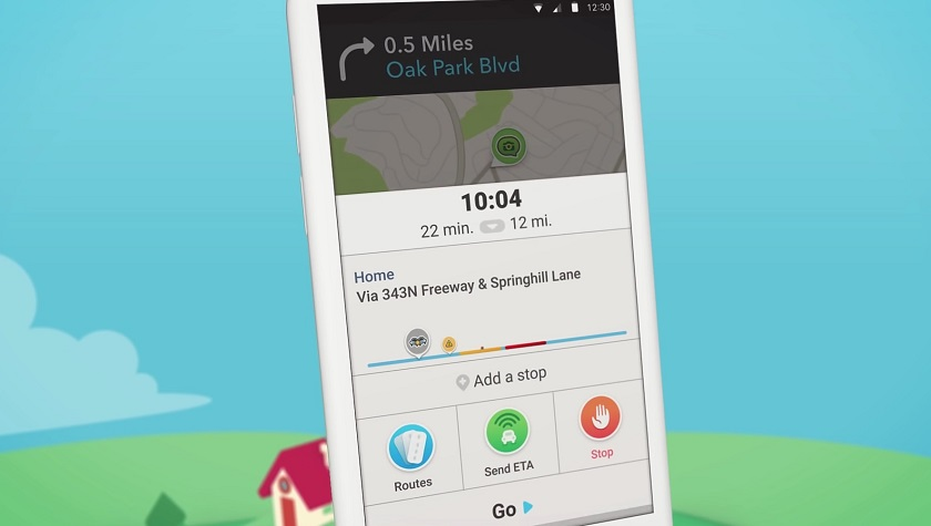 Waze-version-4-UI