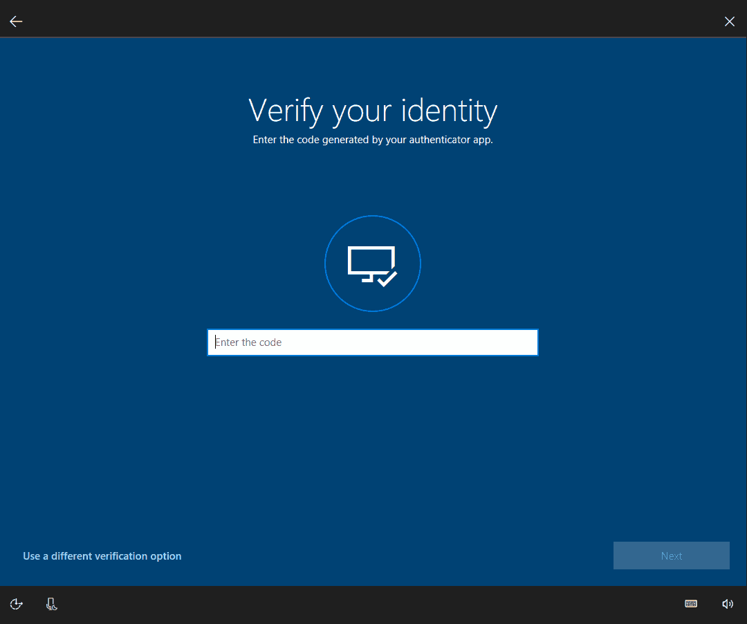 Windows 10 reset password